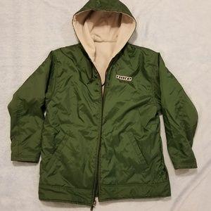 Vintage Nike Reversable Fleece lined Jacket